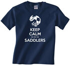 Children, Kids, youth, boys t-shirt Walsall - Keep calm we are the Saddlers