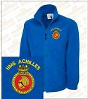 HMS ACHILLES LEANDER Class Crested Embroidered Fleeces