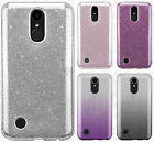 For LG K20 Plus SHINE Hybrid Hard Case Rubber Phone Cover Accessory