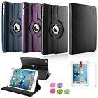 3in1 360 Degree Rotating Leather Stand Case+Protector/Sticker For iPad Mini 4