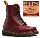 Dr Martens 1460 Made In England Vintage Collection 8 Eye Leather Ankle Boots <br/> Top of the Range Style. Made at the original DM Factory