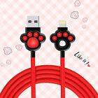 Joyroom Cute USB Data Wire Fast Charge Micro Lightning Cable For iOS/Android