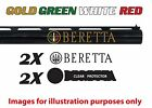 Beretta Vinyl Decal Sticker For Shotgun / Gun / Case / Gun Safe / Car / BR3G