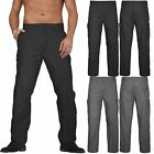 NEW MENS CARGO COMBAT CHINO WORK TROUSERS PANTS WORK CASUAL SIDE POCKETS BOTTOMS