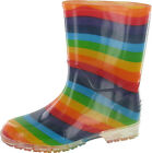 Cotswold Girls PVC Wellington Wellies Boot Waterproof Slip On Rain Snow Footwear
