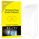 JETech 2-Pack Tempered Glass Screen Protector for Apple iPhone X 8 7 6 Plus SE 5