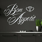 Bon Appetit Wall Decal Kitchen Decor Sticker Cafe Interior Design Vinyl MA186