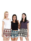 Women's Elephant Shorts