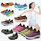 Women Sports Sandals Woven Webbing Sneakers Trainers Shoes Ladies Slip On Flats