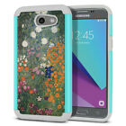 For Samsung Galaxy J3 Emerge J327 2017 2nd Gen Hybrid Shock Absorbent Cover Case