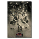 Star Wars Episode VIII The Last Jedi Movie Art Silk Poster 13''x20''24''x36'' 03 $11.19 USD