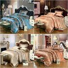 Floral Quilt/Doona/Duvet Cover Set Pillow cases Queen King Size Bedding Sets New