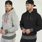Nike Mens Fleece Lined Retro Hooded Sweatshirt Kangaroo Drawcord Jumper