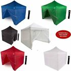 Aluminum 10x10 Pop up Canopy Tent with Sidewalls - Screen Room Mosquito Netting