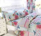 Floral Collage Girls Patchwork Butterfly Girly Vintage Shabby Chic Bedding