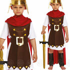 BOYS ROMAN GENERAL FANCY DRESS COSTUME SPARTA SOLDIER GLADIATOR EMPEROR CHILDS