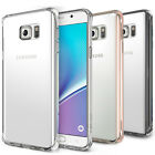 Galaxy Note 5 Case Ringke [FUSION] Crystal Clear PC Back TPU Bumper Raised Bezel