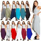 Women's Hareem Baggy Lagen Look Ali Baba Pants Stretch Trousers Leggings
