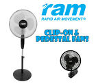 Pedestal & or Clip On Fan Selection Rapid Air Movement RA