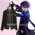 Kirito Jacket Sword Art Online Cosplay Costume FREE P&P