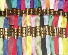 DMC Embroidery Floss 1 Skein PICK YOUR COLORS #700-899 Size 25