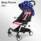 New Upgrade mini Baby Stroller Travel System small Pushchair infant carriage flo