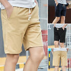 Trendy Trendy Mens Shorts Chino Cargo Summer Trousers Work Combat Casual Pants