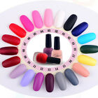 Hot 20 Colors Optional 15ml Scrub Bottles Matte Fashion Nail Art Polish Lot Gift