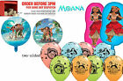 Moana Maui round figure balloon FAST foil latex party birthday kids decoration