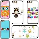 Cute Cartoon Owl Plastic Hard Phone Case Cover For iPhone / iPod Touch / Samsung