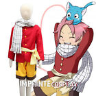 Fairy Tail Natsu Dragneel Child Cosplay Costume Full Set for Kids