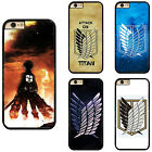 Anime Manga Attack on Titan Plastic Hard Phone Case Cover For iPhone / Samsung