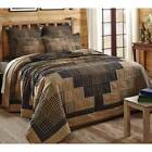 3pc Coal Creek Quilted Bedding Set by VHC Brands - Quilt, 2 Shams