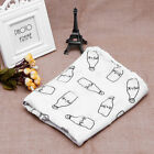 Soft Muslin Baby Swaddling Blanket Newborn Infant Cotton Swaddle Towel US Stock фото