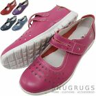 Ladies / Womens Leather EEE Wide Fitting Summer / Holiday / Casual Shoe / Sandal