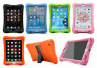 Children Kids Safe Soft Silicone Rubber Kickstand Shockproof Case Cover For iPad