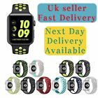 Replacement Silicone Wrist Apple Watch Sports Strap Band Bracelet 42mm/38mm