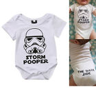 Newborn Star Wars Infant Baby Boy Bodysuit Romper Jumpsuit Clothes Outfits 0-18M $6.49 USD
