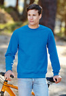 FRUIT OF THE LOOM SC163 - SWEAT-SHIRT COL ROND CLASSIC - MANCHES DROITES