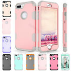 Protective Hybrid Rubber Shockproof Hard Case Cover For Apple iPhone 6 6s 7 Plus