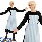 Ladies Sound of Music Costume Adult Maria Fancy Dress Swiss Nanny Musical theme