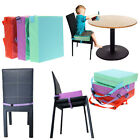 Baby Kids Booster Seat Children Increased Soft Pad Cushion Dining Chair Cover