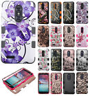 For ZTE Blade X Max IMPACT TUFF HYBRID Protector Case Skin Phone Cover Accessory