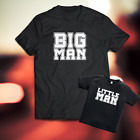Big Man - Little Man Dad Child Matching Cute Shirt S-3X Daddy and me Tee