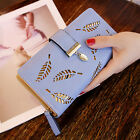 Fashion Women Lady leather Clutch PU Long Wallet Lady Card Holder Purse Handbag