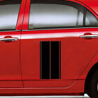 Car Truck or Suv Fender hash Stripe Racing Graphic Decal Sticker Set Universal