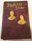 Stanley's Story Through the Wilds of Africa 1890 Rare Antique Book AG Feather
