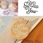 Wooden Rubber Stamp Floral Flower Pattern Photo Album Embossing Letter Stamp