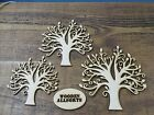MDF Family Tree Craft, wooden shape, Wooden Craft, Blank Shape