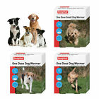 Beaphar One Dose Wormer Small Medium and Large Dogs Dog Worming Tablets